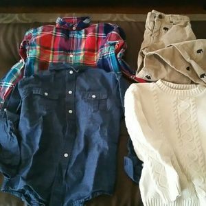 Bundle of janie and jack boy's clothes